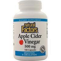 Buy Natural Factors, Apple Cider Vinegar (500mg) 180 caps at Herbal Bless Supplement Store