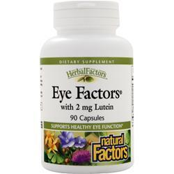 Buy Natural Factors, Eye Factors with Lutein, 90 caps at Herbal Bless Supplement Store