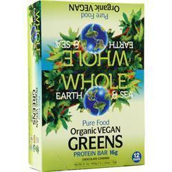 Buy Natural Factors Organic Vegan Greens Bar, Chocolate Covered 12 bars at Herbal Bless Supplement Store