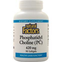 Buy Natural Factors Phosphatidyl Choline (420mg) 90 sgels at Herbal Bless Supplement Store