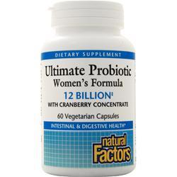 Buy Natural Factors, Ultimate Probiotic Women's Formula, 60 vcaps at Herbal Bless Supplement Store