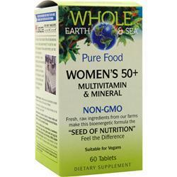 Buy Natural Factors, Whole Earth & Sea - Women's 50+ 60 tabs at Herbal Bless Supplement Store