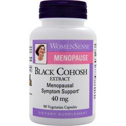 Buy Natural Factors, WomenSense Menopause - Black Cohosh Extract (40mg), 90 vcaps at Herbal Bless Supplement Store