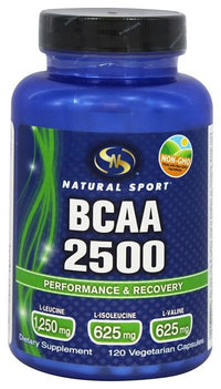 Buy Natural Sport, BCAA 2500, 120 cap vegi at Herbal Bless Supplement Store