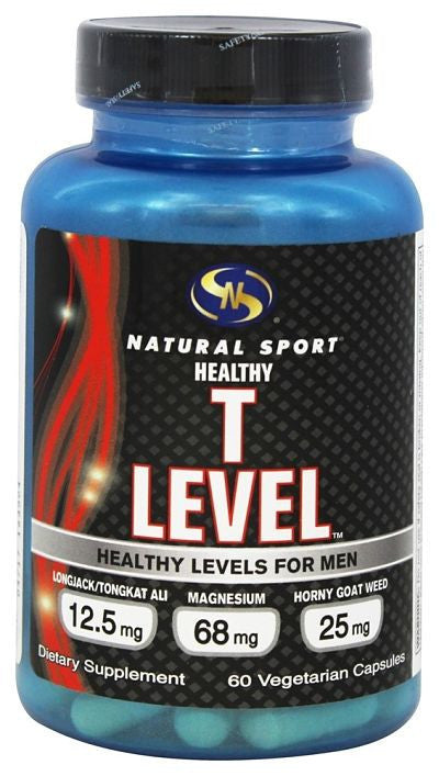 Buy Natural Sport, Healthy T Level - 60 Vegetarian Capsules at Herbal Bless Supplement Store