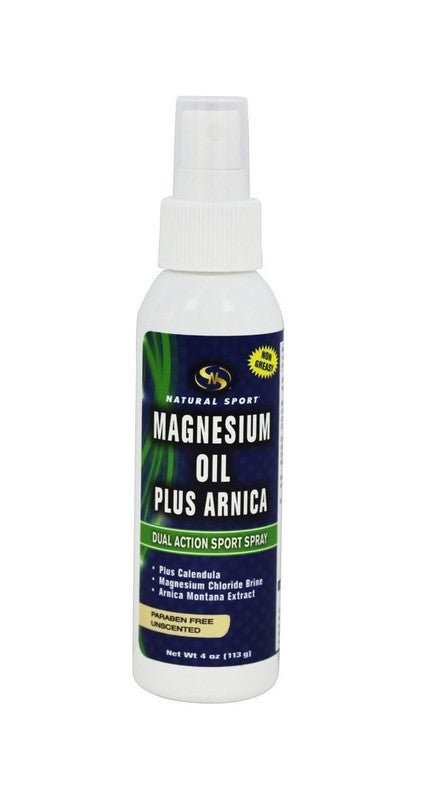 Buy Natural Sport, Magnesium Oil Plus Arnica, 4 oz at Herbal Bless Supplement Store