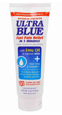 Buy Natural Treasures, BNG, Topical Analgesic Menthol Gel with Emu Oil & MSM, 4 oz at Herbal Bless Supplement Store