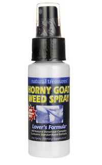 Buy Natural Treasures, Horny Goat Weed Spray, 2 oz at Herbal Bless Supplement Store