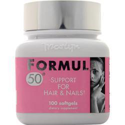 Buy Naturally Vitamins, Formula 50 - Support for Hair & Nails, 100 sgels at Herbal Bless Supplement Store