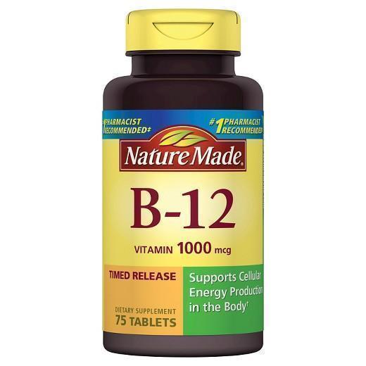 Buy Nature Made, B12 1000 mcg Tablets at Herbal Bless Supplement Store