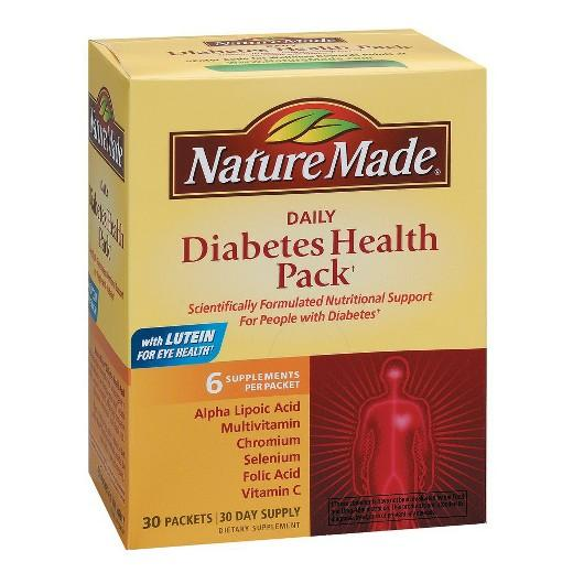 Buy Nature Made, Daily Diabetes Health Packets - 30 Count at Herbal Bless Supplement Store