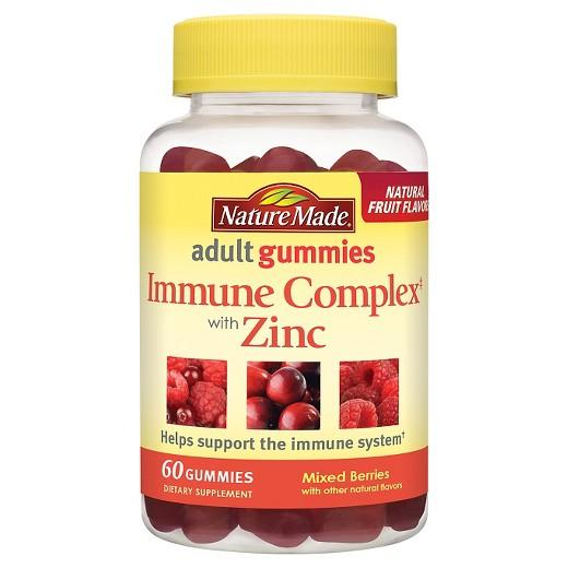 Buy Nature Made, Immune Complex with Zinc Adult Gummy - 60 Count at Herbal Bless Supplement Store
