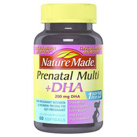Buy Nature Made, Prenatal Multivitamin+DHA 200 mg Softgels at Herbal Bless Supplement Store