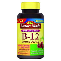 Buy Nature Made, Sublingual Vitamin B-12 3000 mcg - Lozenges 120 at Herbal Bless Supplement Store