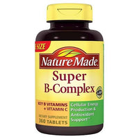 Buy Nature Made, Super B-Complex Tablets - 360ct at Herbal Bless Supplement Store