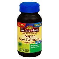 Buy Nature Made, Super Saw Palmetto 480 mg Softgels - 30 Count at Herbal Bless Supplement Store