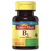 Buy Nature Made, Vitamin B-1 100 mg Tablets - 100ct at Herbal Bless Supplement Store