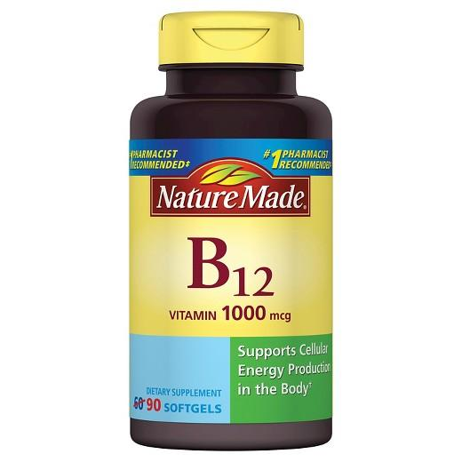 Buy Nature Made, Vitamin B-12 1000 mcg Softgels at Herbal Bless Supplement Store