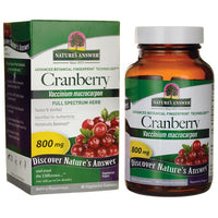 Buy Nature's Answer, Cranberry, 800 mg, 90 Veggie Caps at Herbal Bless Supplement Store