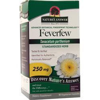 Buy Nature's Answer, Feverfew, 90 vcaps at Herbal Bless Supplement Store