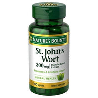 Buy Nature's Bounty, St. John's Wort Extract 300 mg Capsules - 100 Count at Herbal Bless Supplement Store