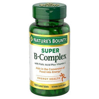 Buy Nature's Bounty, Super B Complex Coated Tablets - 150ct at Herbal Bless Supplement Store