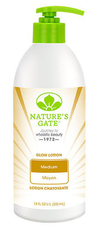 Buy Nature's Gate, Glow Lotion Medium Skin, 18 oz at Herbal Bless Supplement Store