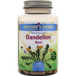 Buy Nature's Herbs, Dandelion Root, 100 caps at Herbal Bless Supplement Store