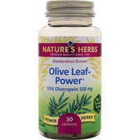 Buy Nature's Herbs, Olive Leaf Power - Standardized Extract, 30 caps at Herbal Bless Supplement Store