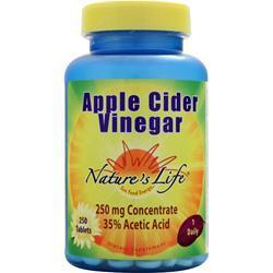 Buy Nature's Life, Apple Cider Vinegar, 250 tabs at Herbal Bless Supplement Store