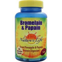 Buy Nature's Life, Bromelain & Papain, 100 vcaps at Herbal Bless Supplement Store