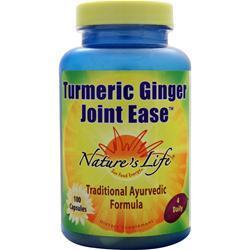 Buy Nature's Life, Turmeric Ginger Joint Ease, 100 caps at Herbal Bless Supplement Store