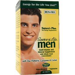 Buy Nature's Plus, Source of Life Men, 60 tabs at Herbal Bless Supplement Store