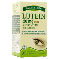 Buy Nature's Truth, Lutein 20mg + Zeaxanthin & Bilberry Quick Release Softgels - 39ct at Herbal Bless Supplement Store
