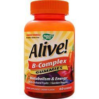 Buy Nature's Way, Alive! B-Complex Gummies, Cherry 60 gummy at Herbal Bless Supplement Store