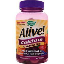 Buy Nature's Way, Alive Calcium Gummies, 60 gummy at Herbal Bless Supplement Store