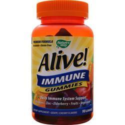 Buy Nature's Way, Alive! - Immune Gummies, Grape/Cherry 90 gummy at Herbal Bless Supplement Store