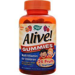 Buy Nature's Way, Alive- Multi Vitamin for Kids, 90 gummies at Herbal Bless Supplement Store