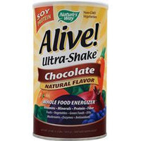 Buy Nature's Way, Alive Ultra Shake Soy Protein, Chocolate 1.3 lbs at Herbal Bless Supplement Store