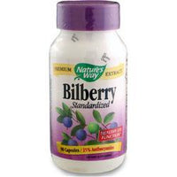 Buy Nature's Way, Bilberry - Standardized Extract, 90 caps at Herbal Bless Supplement Store