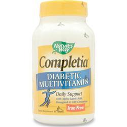 Buy Nature's Way Completia Diabetic Multivitamin (iron free) at Herbal Bless Supplement Store