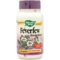 Buy Nature's Way, Feverfew - Standardized Extract, 60 caps at Herbal Bless Supplement Store