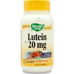 Buy Nature's Way, Lutein (20mg) 60 sgels at Herbal Bless Supplement Store