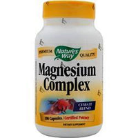 Buy Nature's Way, Magnesium Complex, 100 caps at Herbal Bless Supplement Store