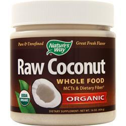 Buy Nature's Way, Organic Raw Coconut Whole Food, 16 oz at Herbal Bless Supplement Store
