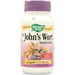 Buy Nature's Way, St. John's Wort - Standardized Extract, 90 caps at Herbal Bless Supplement Store