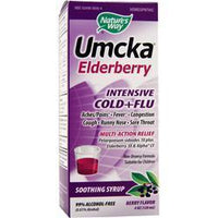 Buy Nature's Way Umcka Elderberry - Intensive Cold + Flu, Berry 4 fl.oz at Herbal Bless Supplement Store