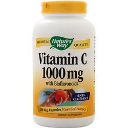 Buy Nature's Way, Vitamin C-1000 with Bioflavonoids, 250 vcaps at Herbal Bless Supplement Store