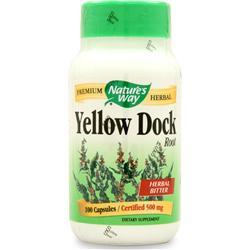Buy Nature's Way, Yellow Dock Root, 100 caps at Herbal Bless Supplement Store
