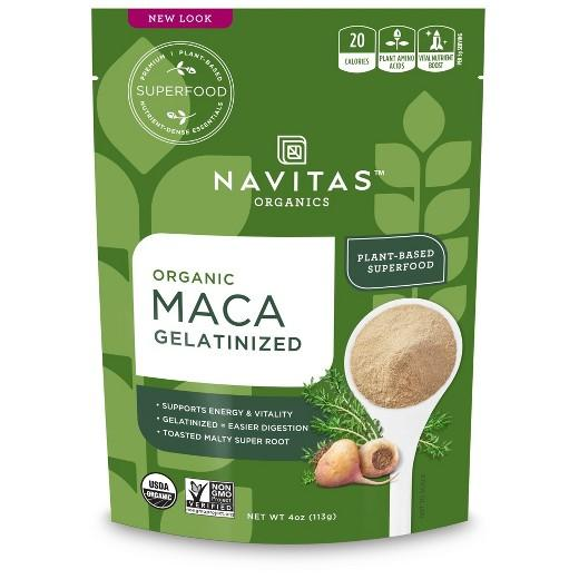 Buy Navitas Organic, Maca Gelatinized Powder - 4oz at Herbal Bless Supplement Store